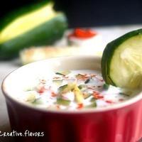 Refreshing Cucumber Raita