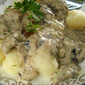 Gnocchi with mushrooms and Gorgonzola
