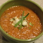 Roasted Corn, Pepper and Tomato Chowder