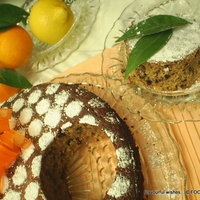 Citrus Chocolate Coconut Ginger Nut flourless torte cake
