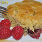 Baked Blackberry Lemon Crisp Pancake