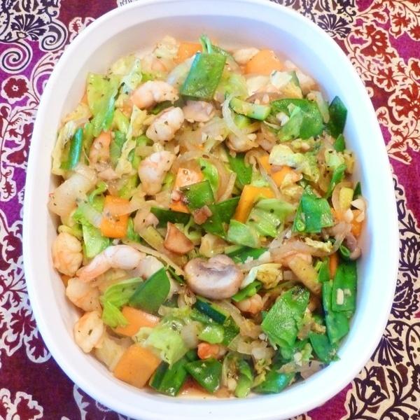 Thai Basil & Curry Shrimp - Pattaya