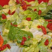 Romaine Salad with Lemon-Parmesan Dressing