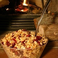 Image of Cranberry-pomegranate Infused Granola Recipe, Cook Eat Share