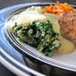 Savory Spinach Custard