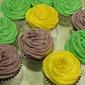 Mardi Gras Citrus Cupcakes