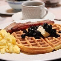 Coconuit Flour Waffles And Vegas Eggs!