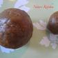 Sweet Jaggery balls (using wheat flour)