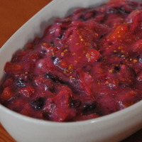 Cranberry Yogurt Relish
