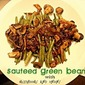 Sauteed Green Beans with Mushrooms and Onions