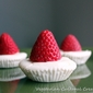 Mini Strawberry cheesecake (lowfat)