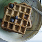 Teff Sourdough Waffles
