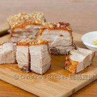 Crispy Roast Pork Belly (脆皮燒肉)