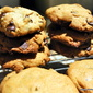 Good Luck! Justin's Banana, Peanut Butter, Chocolate Chip Cookies