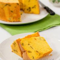 Pumpkin Chiffon Cake (Light and healthy)