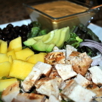 Is It Summer Yet? Rum Marinated Chicken and Mexican Mango Salad