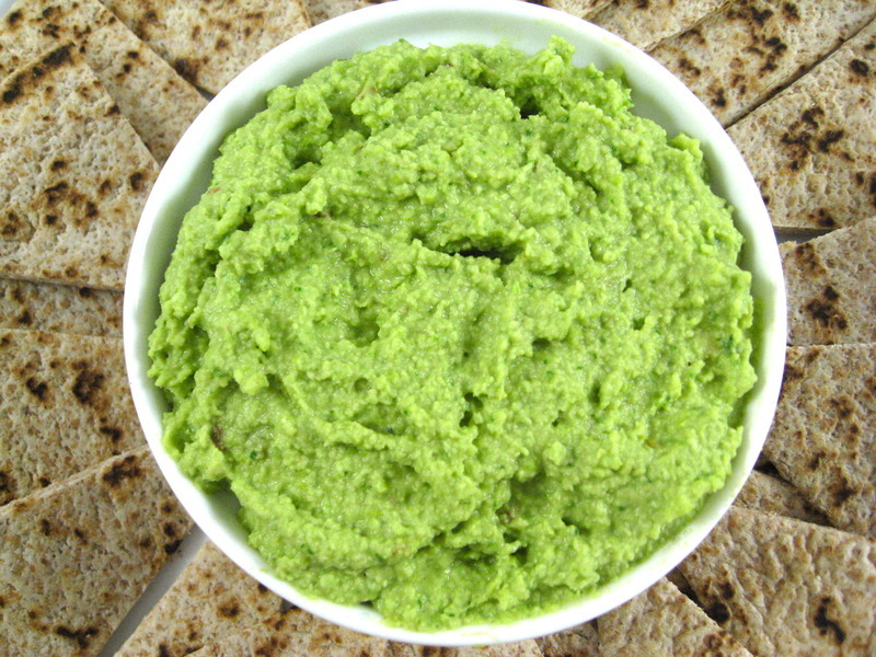 Delicious Edamame, Spinach Hummus