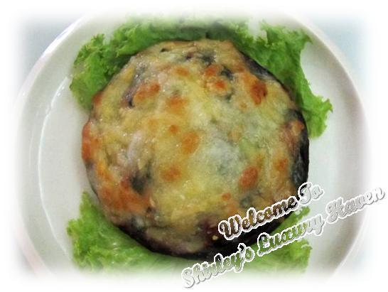 Grilled Portobello Mushroom with Spinach
