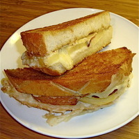 (Not Just Any) Grilled Cheese Sandwich