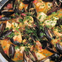 One Dish Seafood Stew