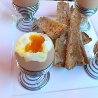 soft boiled eggs with toast soldiers