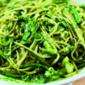 pasta ala genovese (with potato, green bean and pesto)