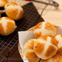 Hot Cross Buns (Tangzhong Method)