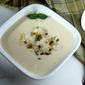 White Cheddar and Cauliflower Soup