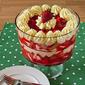 Fresh Strawberry and Lemon Mousse Trifle