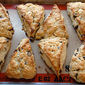 Chocolate Chip Cream Scones With Orange Zest