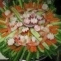 Shrimp/Veggie Party Tray