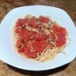 Spaghetti with Clam and Tomato sauce