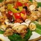 Calamari with Peperoncini Sauce