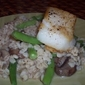 Barley with Mushrooms and Green Beans
