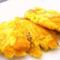Fried plantains (tostones,patacones o fritos)