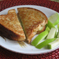 Grilled Green Apples and Cheese