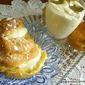 PUFF choux PASTRY ricotta cream ZEPPOLE