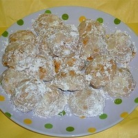 My Contribution to Becky's Online Bake Sale: Lemon-White Chocolate Graham Cookies