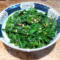 Roman-Style Spinach