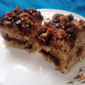 Banana Cake with Dark Chocolate and Walnuts