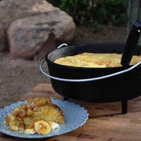 Easy Banana Cake Recipe You Can Make in a Dutch Oven