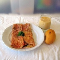 Salty and crunchy crepes
