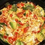 Scambled Egg Whites with Tomatoes and Herbs