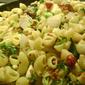 Warm Macaroni and Barley Salad