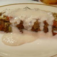 Lentil Loaf with Cashew Gravy