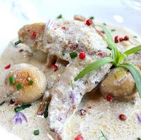 Gallic Gastro-Classic: Chicken in Tarragon Cream Sauce