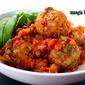 Meatballs and Marinara Sauce