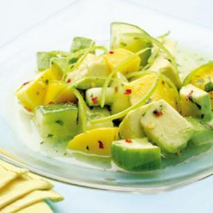 Weight Watchers Tropical Cucumber Salad
