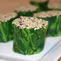 Japanese Spinach Salad, Ohitashi