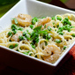 Spring Pea and Shrimp Linguine for 2